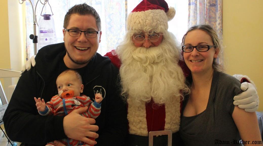 Noël 2013 avec le vrai Père Noël!
